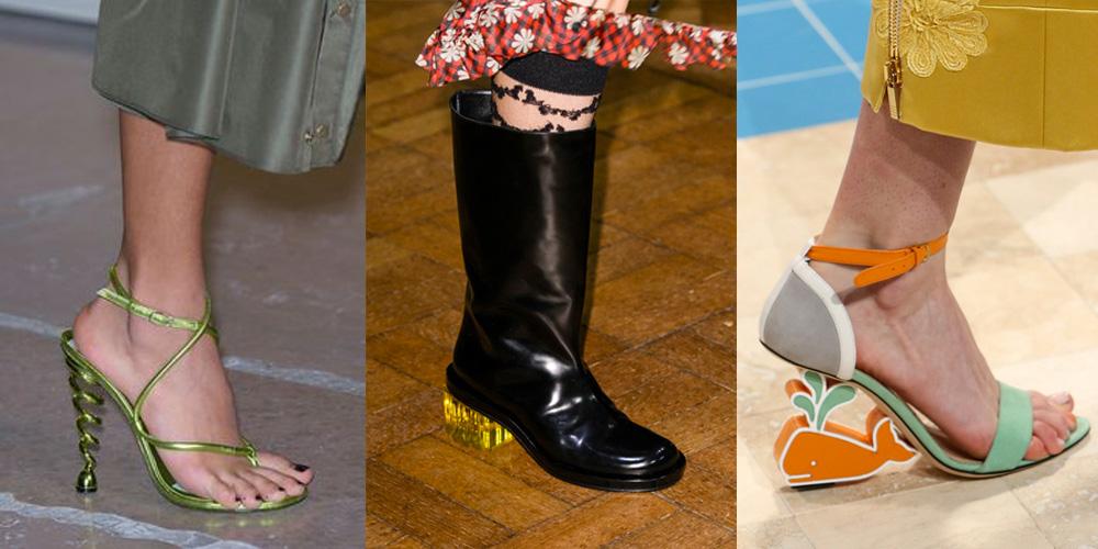 Spring/Summer Shoe Trends 2017: Funky Heels
