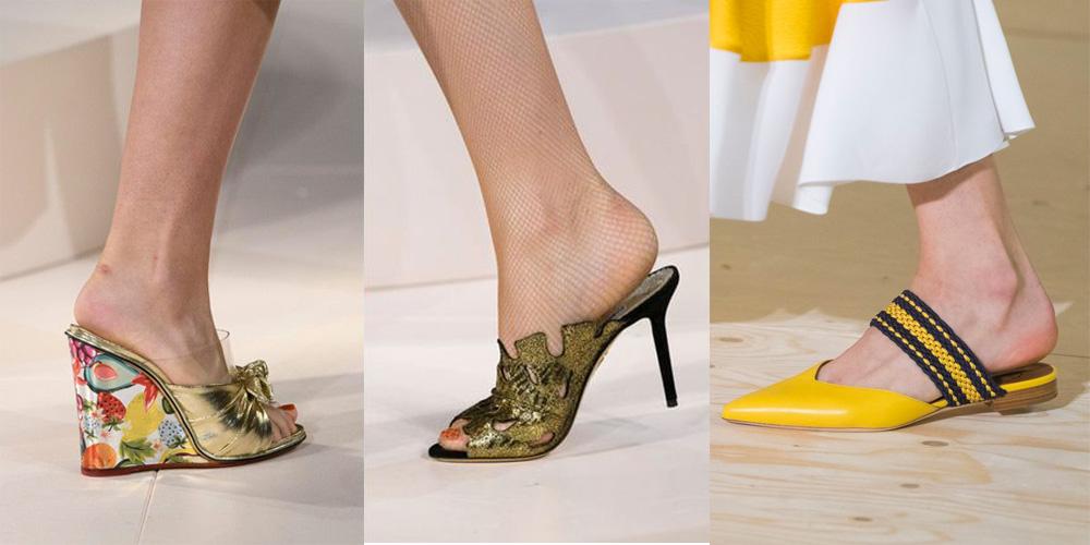 Spring/Summer Shoe Trends 2017: Revamped Mules
