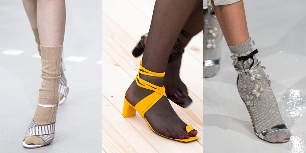 Spring/Summer Shoe Trends 2017: Sandals With Socks
