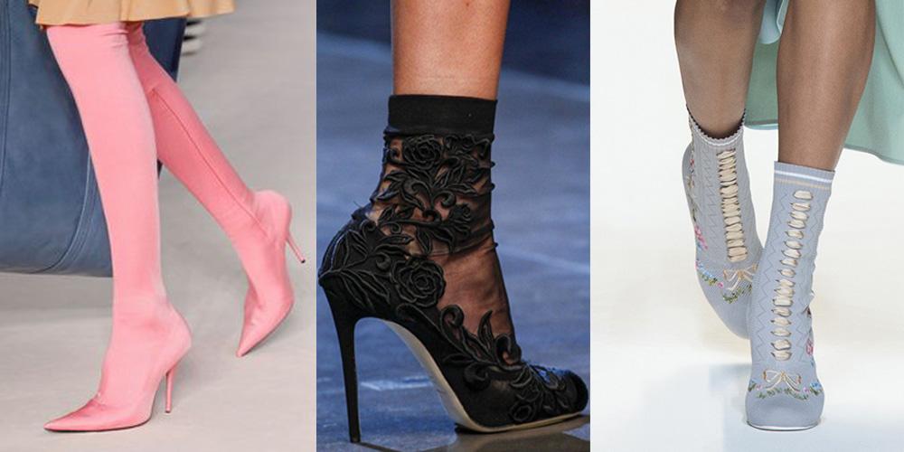 Spring/Summer Shoe Trends 2017: Sock Boots