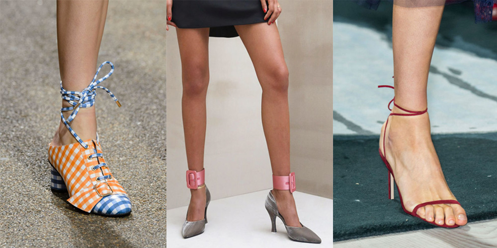 Spring/Summer Shoe Trends 2017: Wrapped Around The Ankles