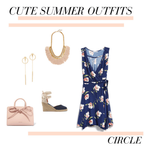 Cute Summer Outfits-Round Body Type