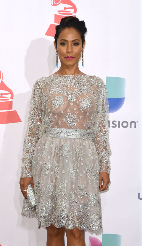 Naked Dress Trend - Jada Pinkett Smith at the 2015 Latin Grammy Awards