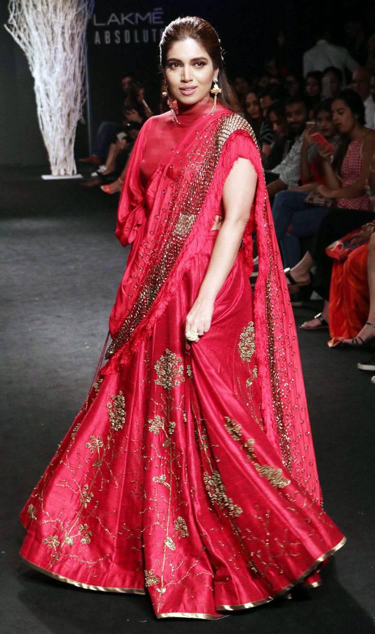 Lakme Fashion Week-RED-Colour of the season