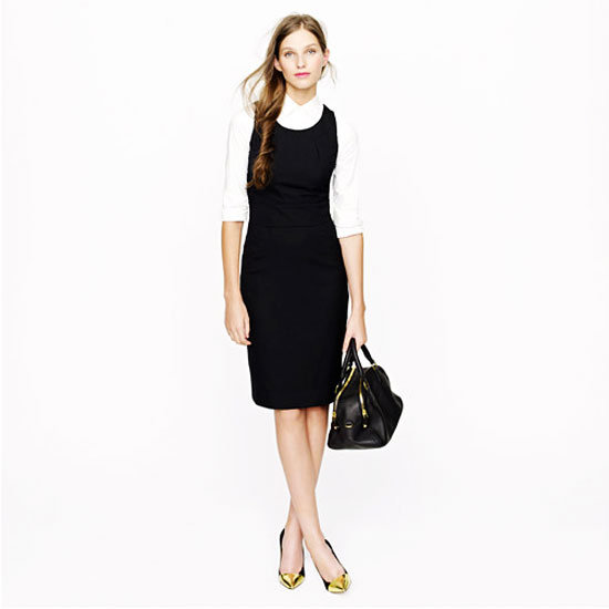 What To Wear To a Job Interview In Fashion-Long Dress With Blouse