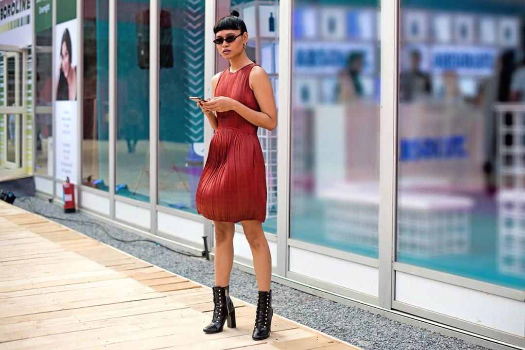 Street Fashion AIFWSS18 - Merrylin Boro