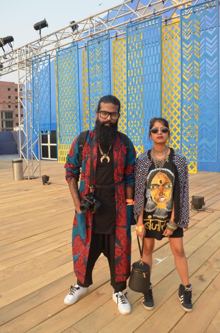 Street Fashion AIFWSS18 - Charuta Arvind Yadav & Varun
