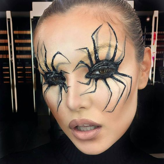 Creepy-Crawly Spider Halloween Makeup Ideas