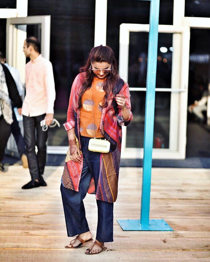 Street Fashion AIFWSS18 - Devina Malhotra Chadha