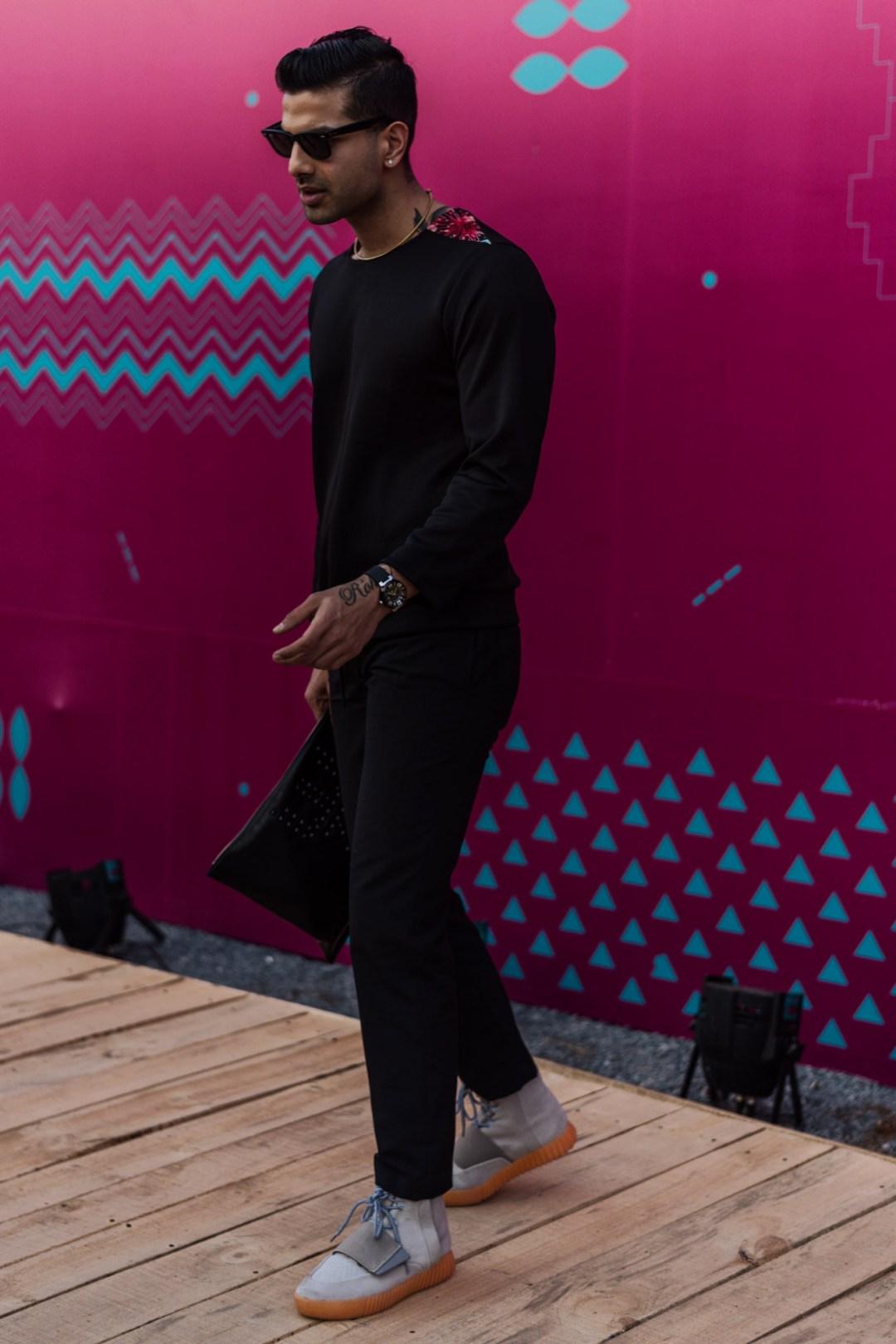 Street Fashion AIFWSS18 - Harsh Khullar