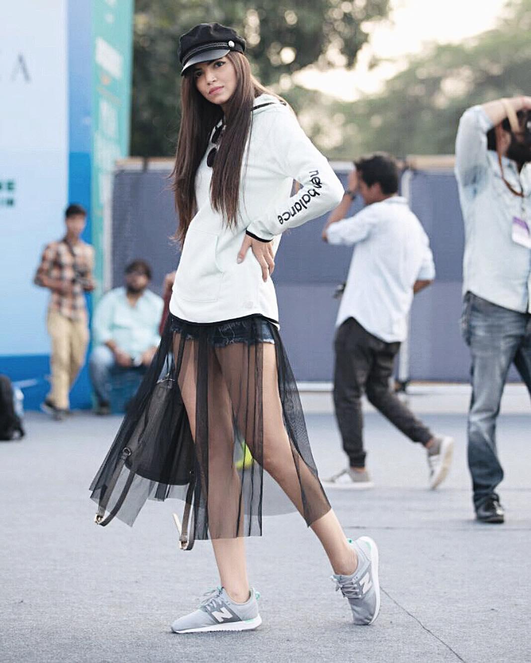 Street Fashion AIFWSS18 - Kiran Khokhar