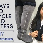 7 Ways To Upcycle Old Sweaters | DIY Winter Accessories