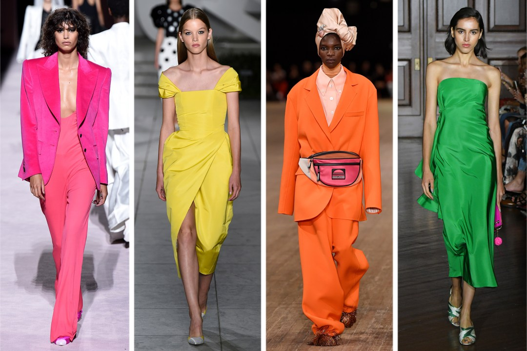 Spring/Summer Fashion Trends 2018 - Bold Colors