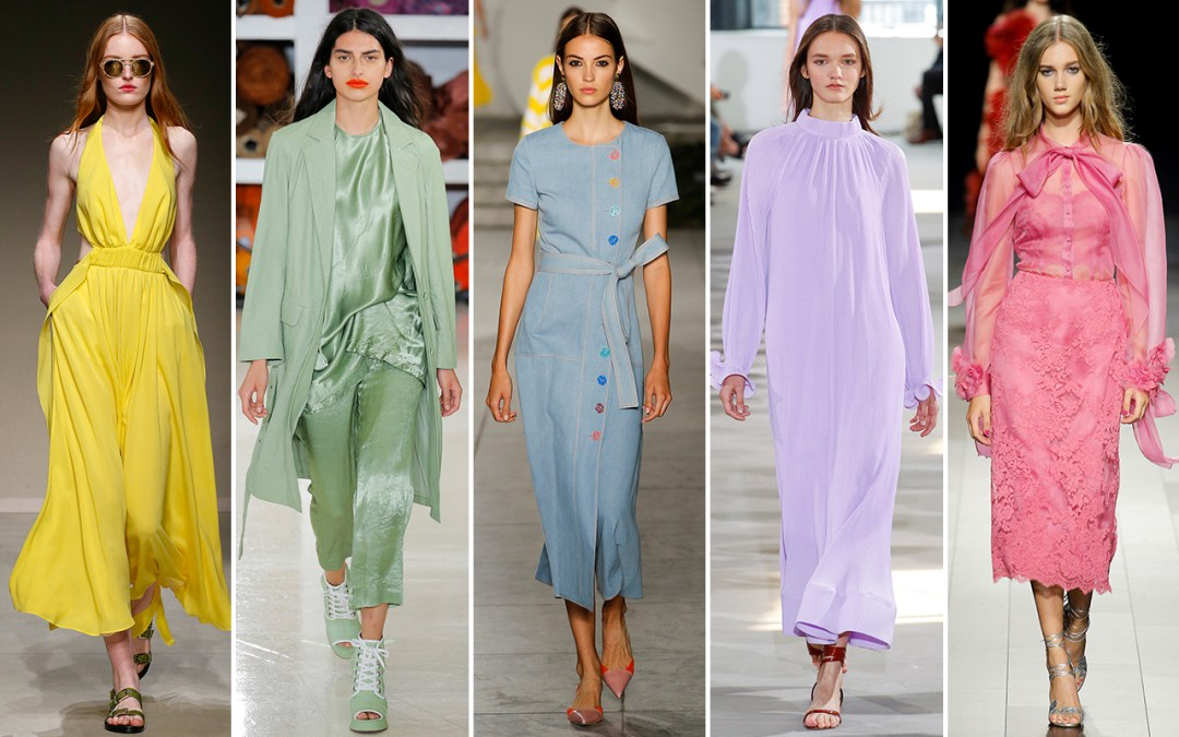 Spring/Summer Fashion Trends 2018 - Pastels