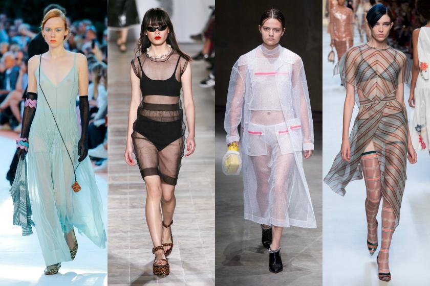 Spring/Summer Fashion Trends 2018 - Sheer