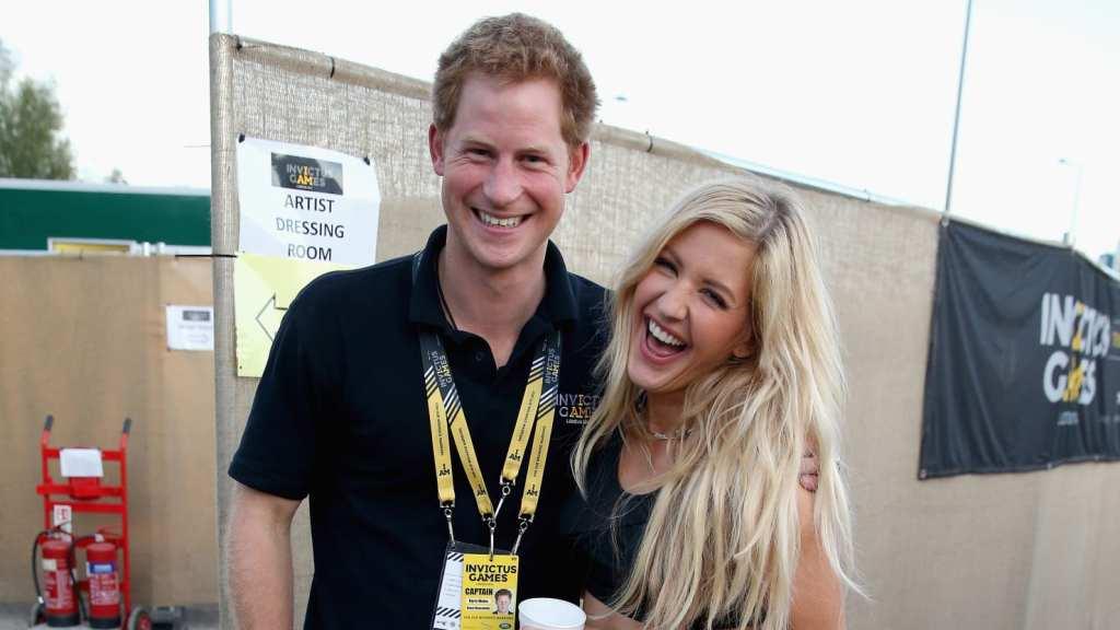 Prince Harry's girlfriend : Ellie Goulding