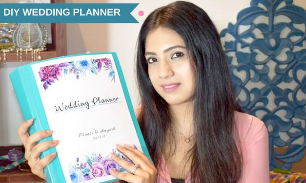 How To Plan A Wedding: DIY Wedding Planning Binder
