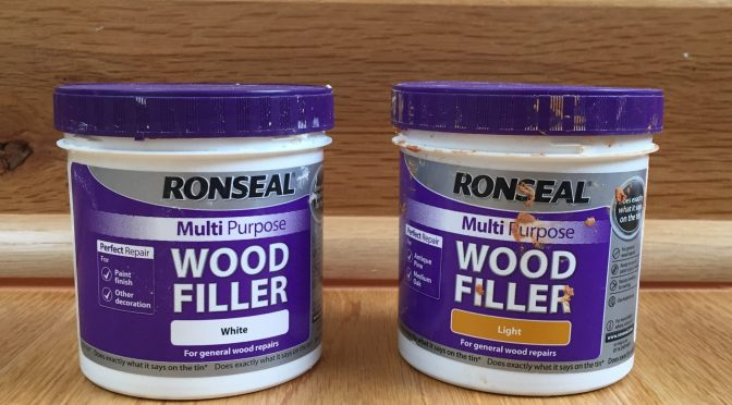 Ronseal Multi Purpose Wood Filler Review