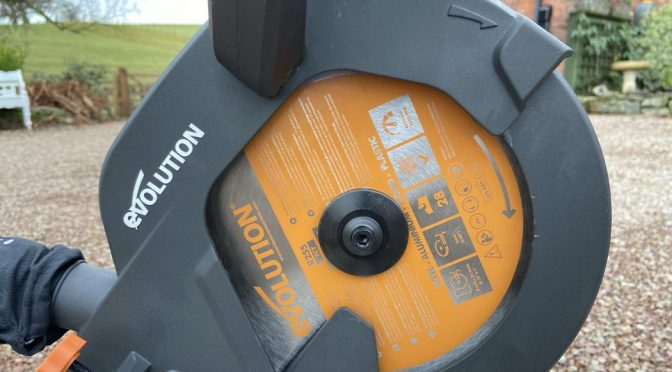 Evolution R255 mitre saw video review