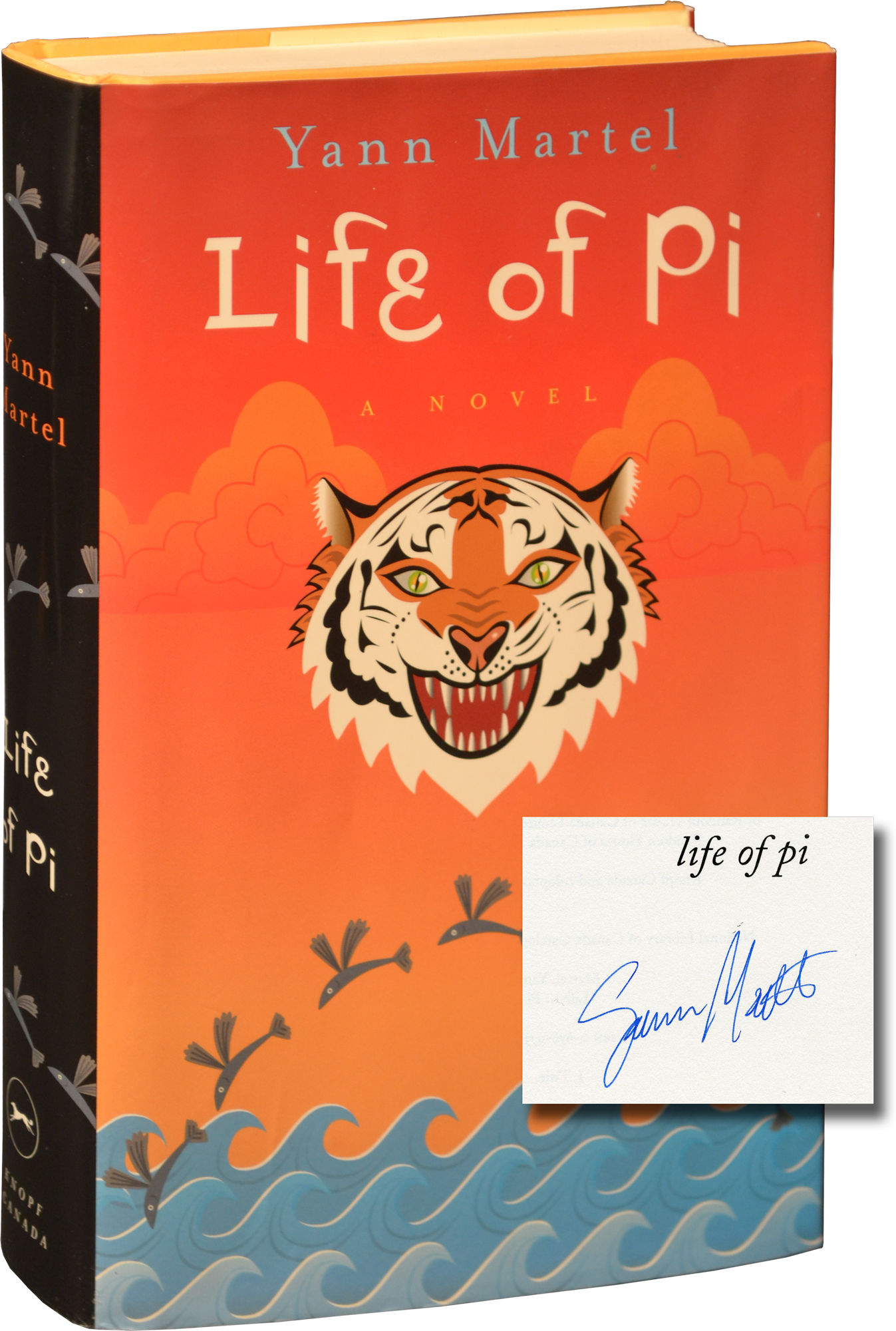 Life Of Pi First Canadian Edition True First Signed By