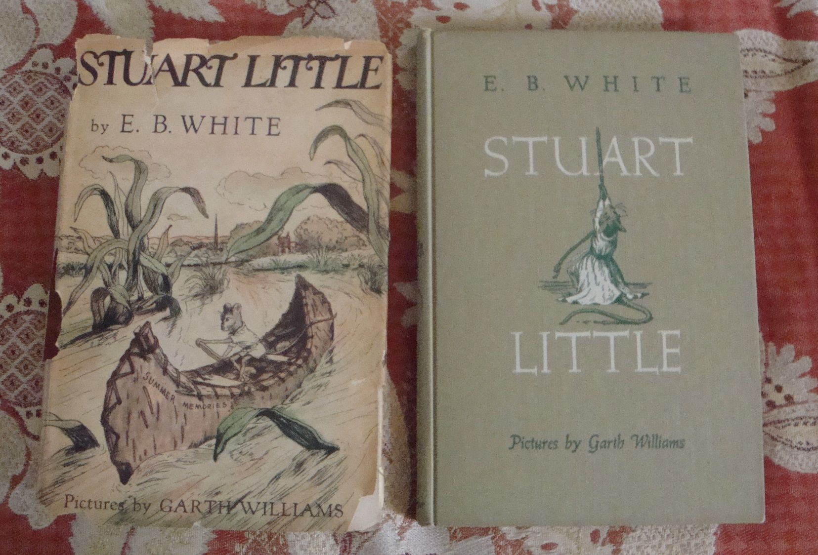 Stuart Little First Printing By E B White