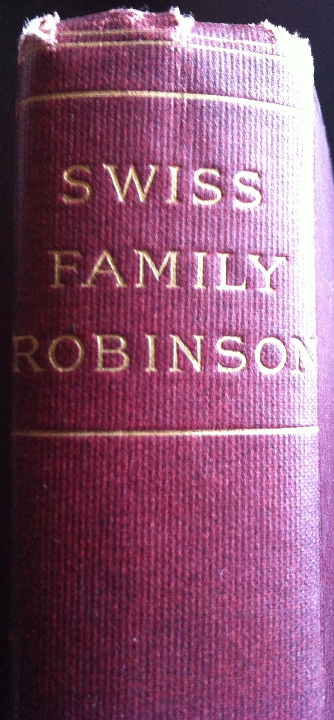 The Swiss Family Robinson Or The Adventures Of A