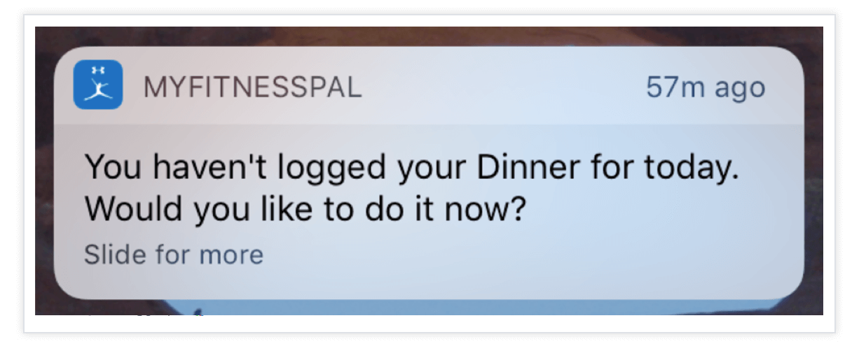 MyFitnessPal-Push-Notification
