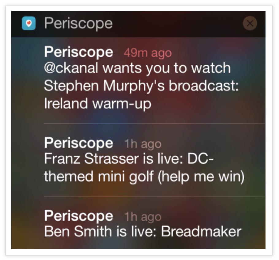 Periscope-Push-Notification