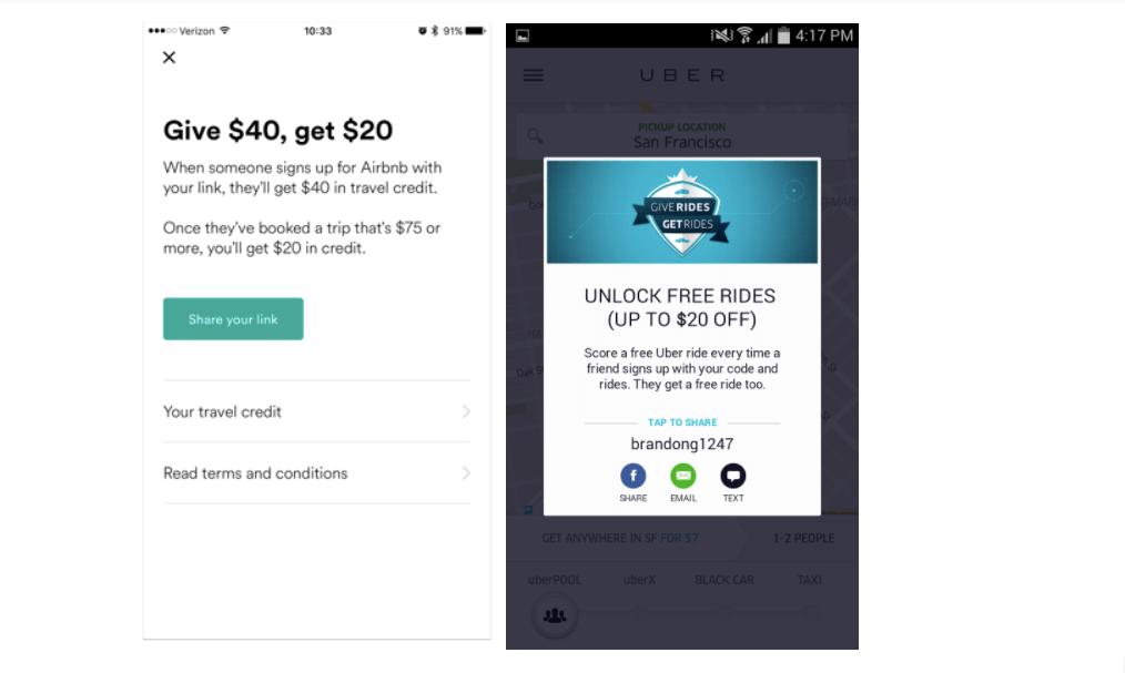 Airbnb-Uber-Referrals