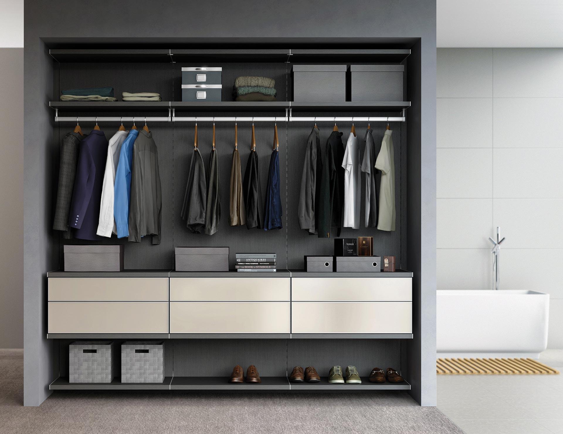 Reach In Closet Systems Reach In Closet Designs