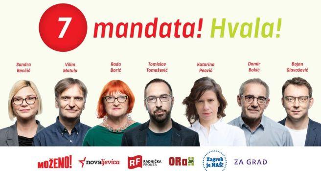 Možemo! zahvalio biračima: 'Nećemo vas razočarati, više ništa u hrvatskoj  politici neće biti isto' - Hrvatska - RTL VIJESTI