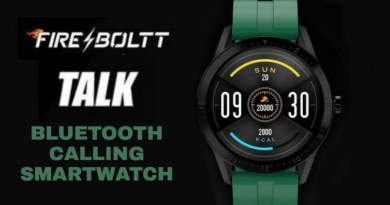 Fire-Boltt Talk BSW004 Smartwatch Launched in India, Know Price and Features