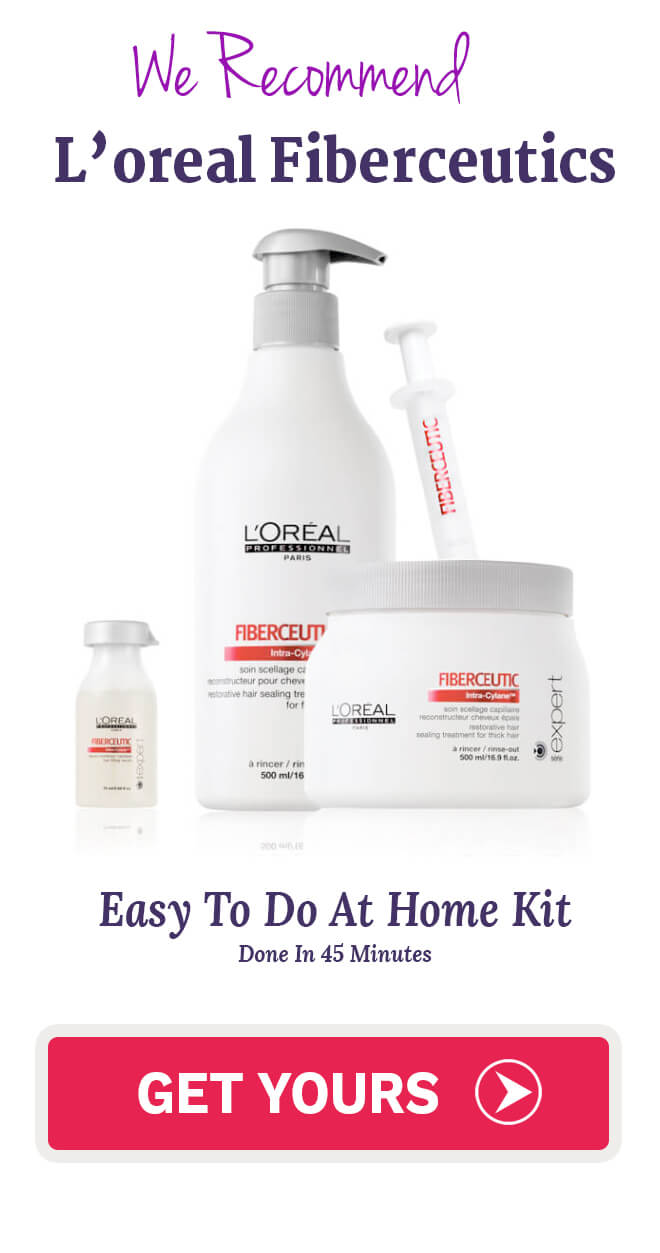 LOreal Fiberceutic Hair Botox The Easiest Keratin