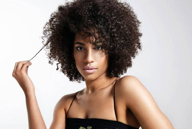 hair is dead! so how do you get your natural curls back