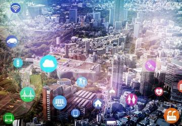 ilustrasi konsep smart city
