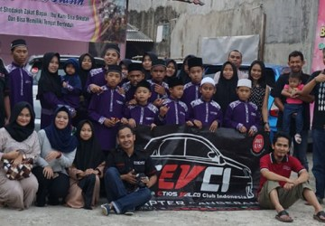 TEVCI Tangerang berbuka puasa