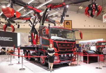 kendaraan komersial di GIIAS 2018
