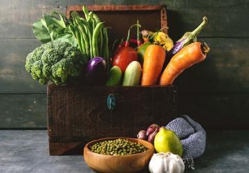 meningkatkan daya tahan tubuh dengan buah-buahan dan sayur-mayur