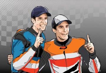 pebalap bersaudara di MotoGP