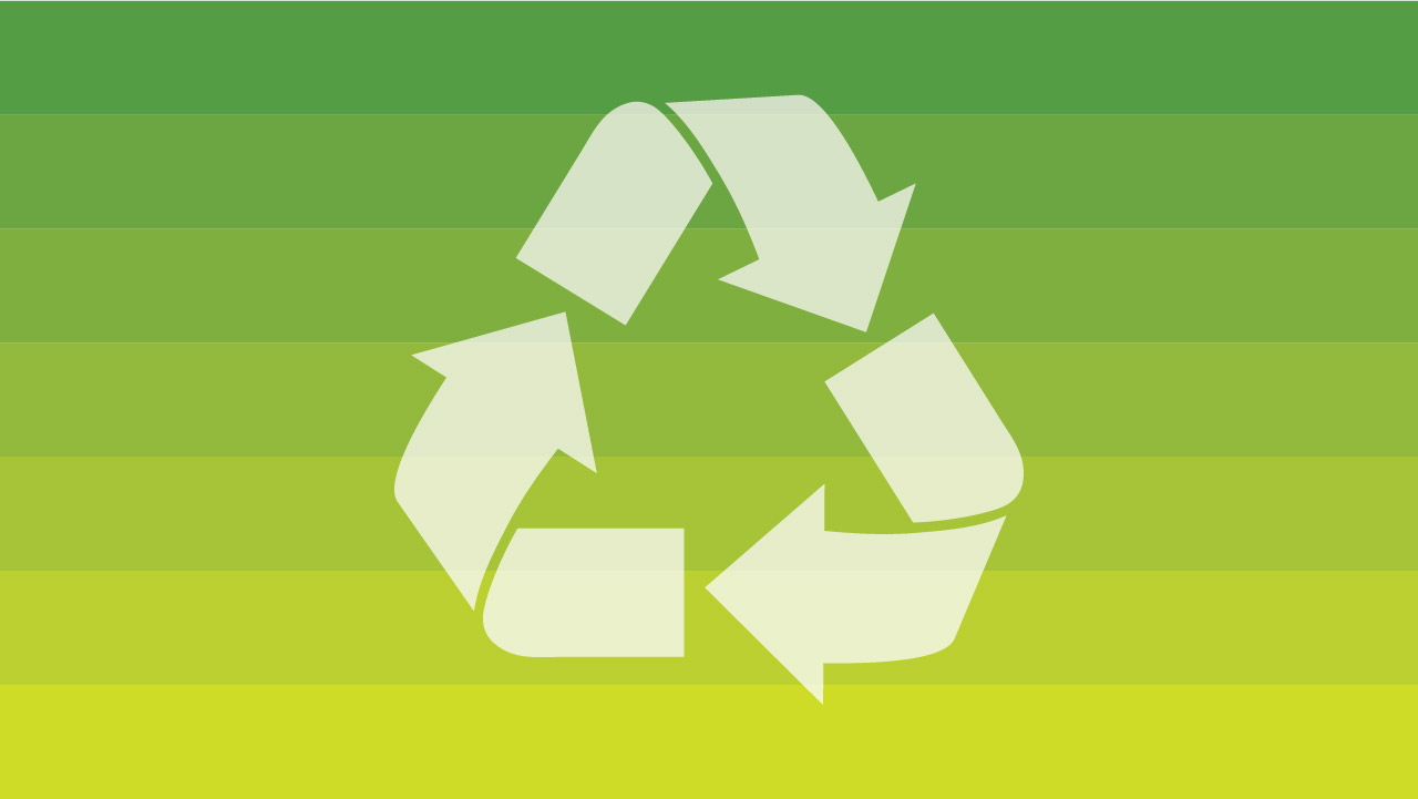 Simbol daur ulang plastik