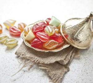 permen tradisional turki untuk perayaan idul fitri.