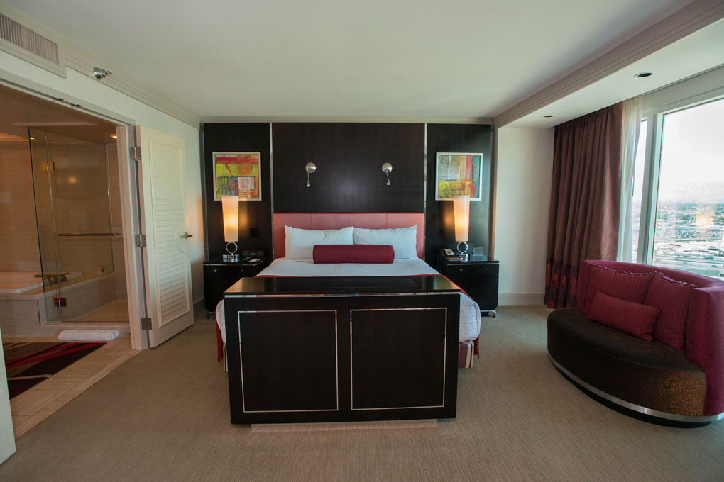 The Mirage Hotel Casino The One Bedroom Tower Suite At The
