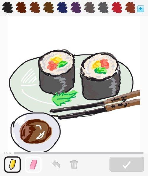 Food Easy Kawaii Sushi Food Easy Kawaii Cute Drawings Novocom Top