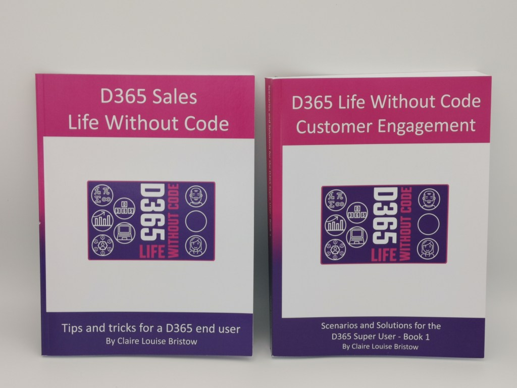 D365 Life Without Code Books