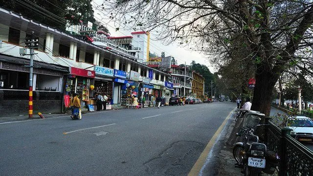 The Mall Road:  10 Top Tourist Places To Visit In Nainital