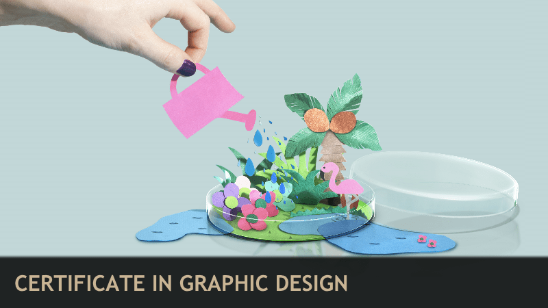 HOWU Design Certificates Carefully curated and comprised of seven courses  this graphic design  certificate is built for those of you just getting started in the field and  those of