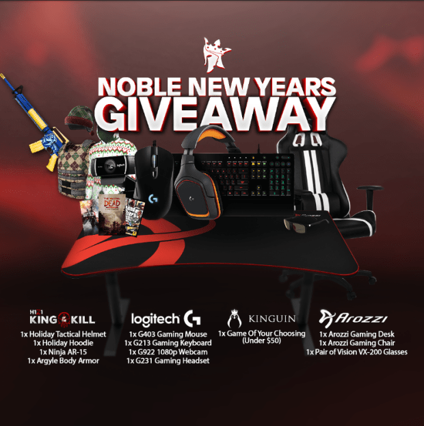 Noble New Years Giveaway