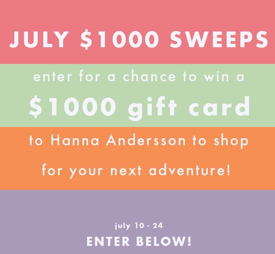 $1000 JULY SWEEPSTAKES!