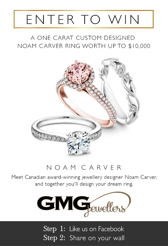 GMG Jewellers Presents Noam Carver Diamond Ring Giveaway