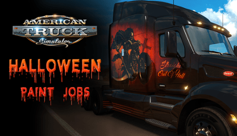 ATS Halloween Paintjobs Pack